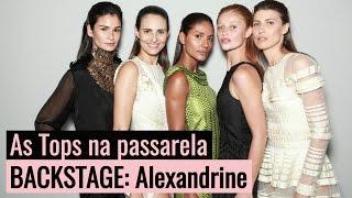 Ana Paula Renault entrevista Isabeli Fontana e outras tops brasileiras #SPFWn43