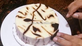 WHITE VANCHO BIRTHDAY CAKE ( 1/2kg ) recipe