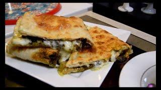 خبز بلزعتر والجبن ,تفيد سحور كلش طيبه جربوها اكلات عراقيه ام زين  IRAQI FOOD OM ZEIN