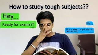 How to study tough subjects (Engineering) ?  -  in5minutes