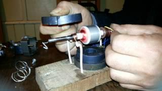 Transformacion motor 220 volt a 12 volt