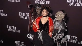"Vanessa Hudgens ""Knotts Scary Farm 2016"" Black Carpet"