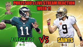 Eagles VS Saints Live Reactions