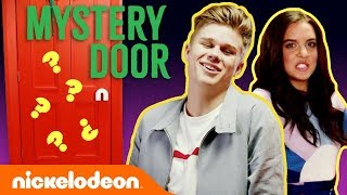 Mystery Door Challenge w/ Jace Norman, JoJo Siwa, Owen Joyner & More ⁉️ Play if You Dare! | Nick