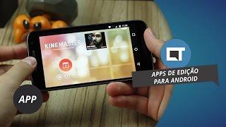 Os 5 melhores editores de vídeo para Android (2016)