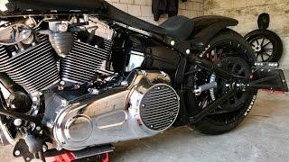 Harley-Davidson FXSB New Derby Cover
