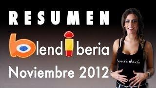 Resumen Blendiberia 2012