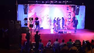 PondicherrY UniversitY, Hostel day'15 Group Dance...