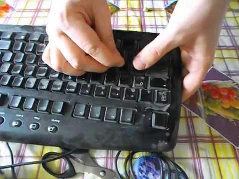 Как самому сделать клавиатуру