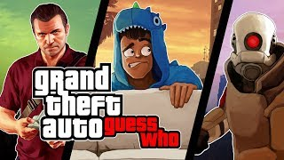 Gmod Guess Who Funny Moments - GTA 5 Michael