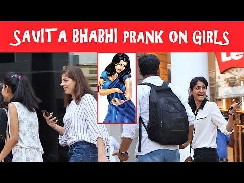 Xxx Mp4 Calling CUTE Girls SAVITA BHABHI Prank Pranks In INDIA 2017 3gp Sex