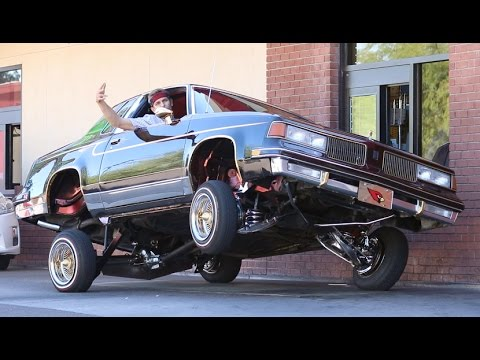 Lowrider in the Drive thru