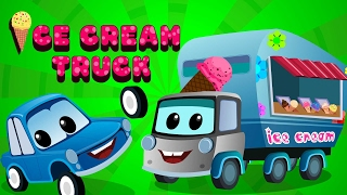 Zeek And Friends | Ice Cream Truck Cars Song | Original Songs For Children