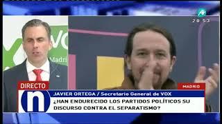La respuesta de VOX tras el enfrentamiento armado de Torra Cataluña
