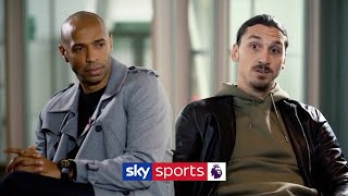 """""""I came back to win the Premier League!""""   Thierry Henry meets Zlatan Ibrahimovic"""