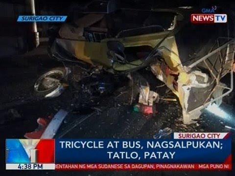 Xxx Mp4 BP Tricycle At Bus Nagsalpukan Sa Surigao City 3 Patay 3gp Sex