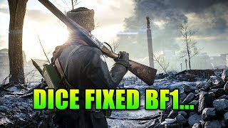 Dice Fixed Battlefield 1... Weapons Update & Classic Conquest!