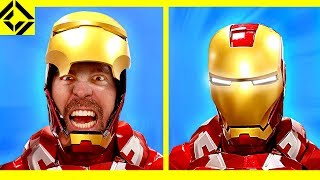 Why IRON MAN is in REAL  PAIN