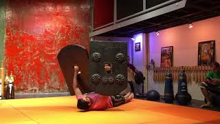 Zurkhaneh Sports Shield lifting