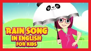 Rain Song In English For Kids - English Rhyme Compilation (One Hour)