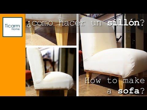 Como hacer un sillon de palet paso a paso download play - Como tapizar un sillon ...