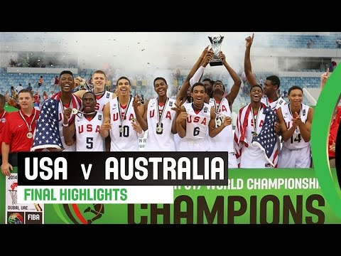 watch USA v Australia -  Final Highlights - 2014 FIBA U17 World Championship