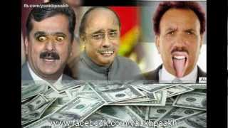 Funny Pakistani Corrupt politicians Vs Gali Gali Chor Ha Song .mp4