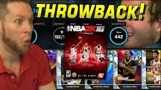 NBA 2K16 THROWBACK! The Good Old Days!