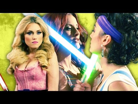 Revenge of the Threesome Star Wars Lightsaber Duel Saber III