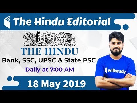 Xxx Mp4 7 00 AM The Hindu Editorial Analysis By Vishal Sir 18 May 2019 Bank SSC UPSC Amp State PSC 3gp Sex