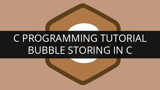 Bubble sorting in C: Basic C programming tutorials by Edureka | Edureka