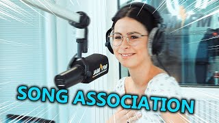 Lena - Selena Gomez, Ariana Grande, Dua Lipa | Song Association ⚡ JAM FM