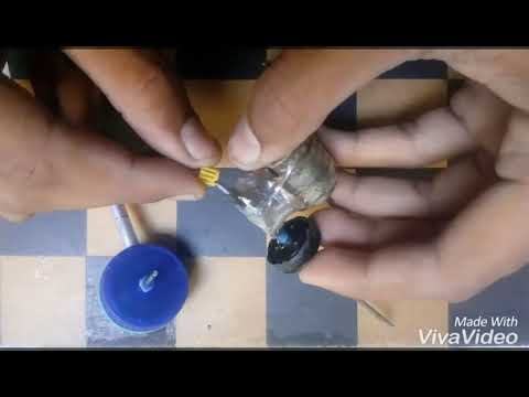 How to make the small water pump