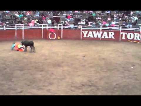 OYON CORRIDA DE TORO VIRGEN DE LA ASUNCION AGOSTO 2011 PARTE 1