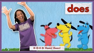 """""""Does"""" - High Frequency Sight Word Song 