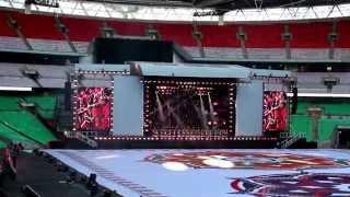 UK Welcome Modi: At Wembley Stadium |Scotish Drums| Panjabi Dhol| MML Dhol Beats dholbeatsuk