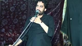 Zakir Waseem Abbas Bloch 10 Muharam 25-10-2015 Qasre Haider Ghakhar Mandi