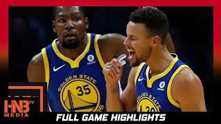 Golden State Warriors vs San Antonio Spurs Full Game Highlights / Week 3 / 2017 NBA Season