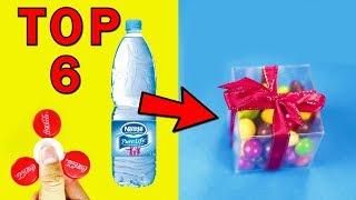 Top 6 triku a vychytávek s PET lahví