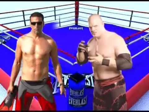 WWE star Kane meets Akshay Kumar son Aarav