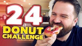 THE 24 DONUT CHALLENGE
