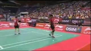 F - XD - Tantowi Ahamad/Liliyana Natsir vs Chen Hung Ling/Cheng Wen Hsing - 2011 Singapore Open
