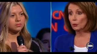 WATCH: Santa Fe Survivor Shuts Up Nancy Pelosi LIVE On CNN – Her Face Says It All
