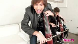 2Cellos do Guns N Roses' 'Welcome To The Jungle' (Perez Hilton Performance)