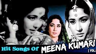 Meena Kumari Superhit Hindi Songs Collection - Old Hindi Songs - Jukebox - Vol 2