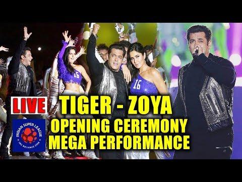 Xxx Mp4 Tiger Zoya Live Performance Salman Khan Katrina Kaif At ISL Cochin Opening Ceremony 3gp Sex