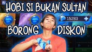 HOBBY BUKAN SULTAN YANG SUKA DISKON!!!