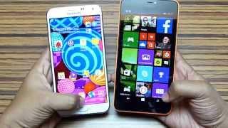 Lumia 640 XL vs Galaxy E7 | Comparison & in-depth Review