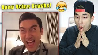Funny Kpop Idol Voice Cracks!