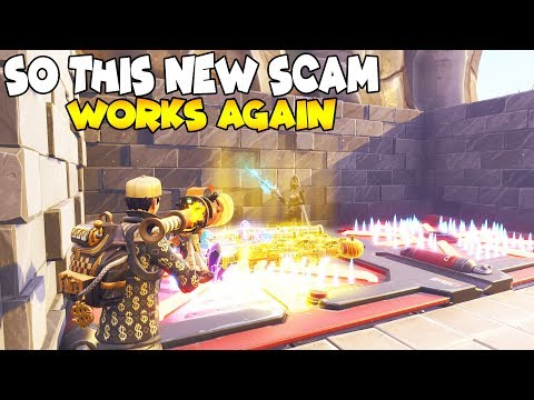 Xxx Mp4 This New Scam Works Again 😱 Scammer Gets Scammed Fortnite Save The World 3gp Sex
